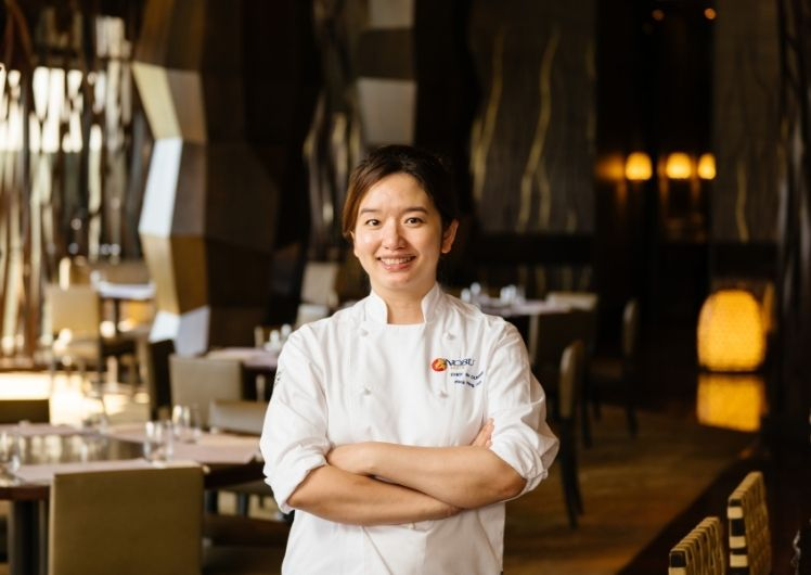 Crown Perth Nobu Chef Pingping Poh