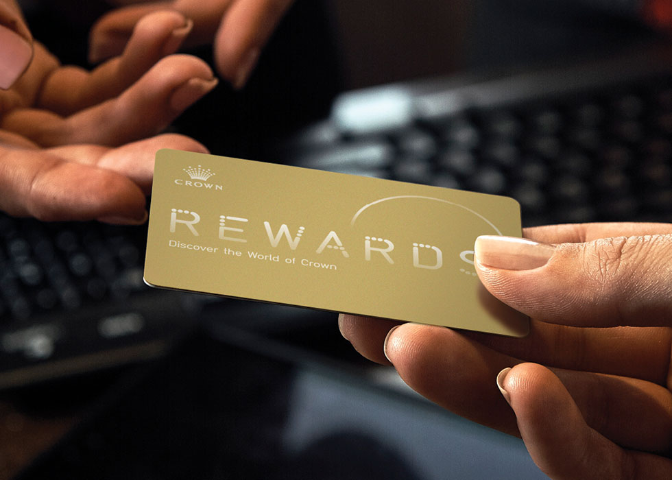 Completing Your Membership - Crown Rewards | Crown Melbourne