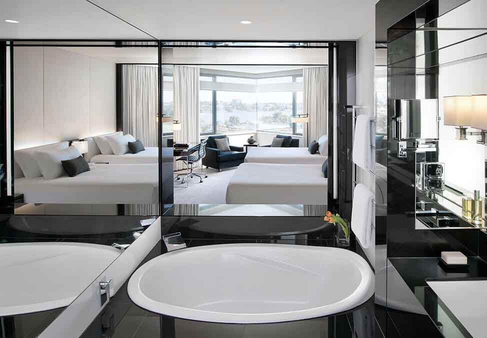 Perth Hotels CrownMetropol LuxeViewKing Bathroom