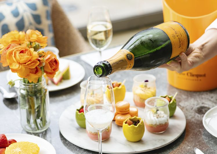 Veuve Clicquot at Epicurean