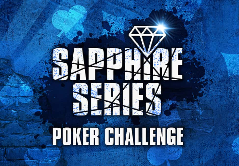 Poker Chips- Sapphire Series Poker Championship - Crown Perth Poker