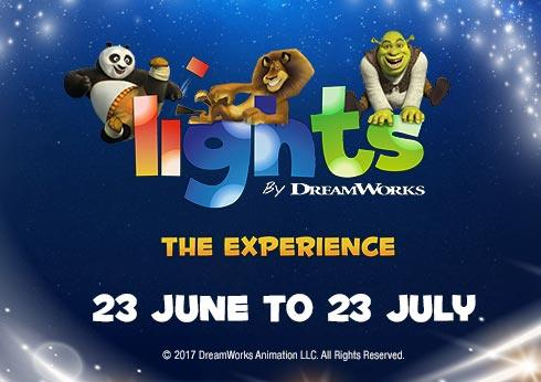 Lights by DreamWorks – The Experience at Crown Pyramid Perth