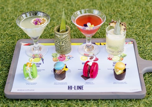 HI-LINE Signature Cocktail Tasting Paddle