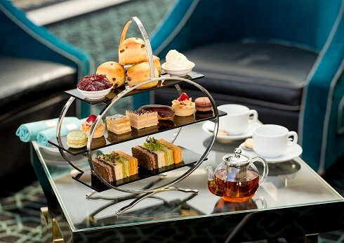 high tea at lobby lounge crown perth