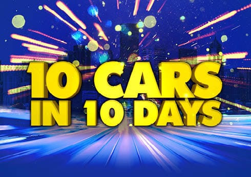 10 Cars in 10 Days at Crown Perth