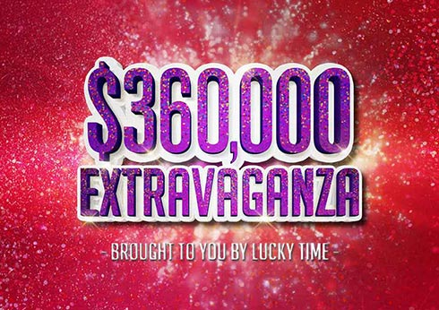 Share in $360,000 worth of prizes