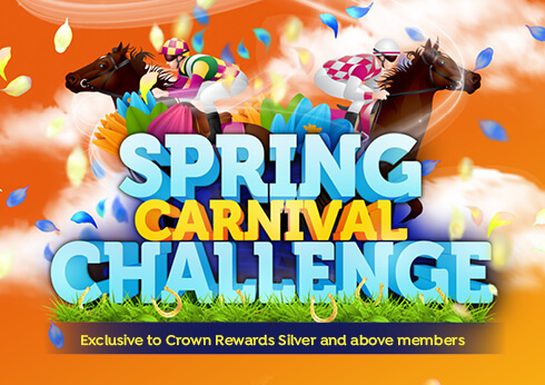 spring carnival challenge at crown perth in riverside room
