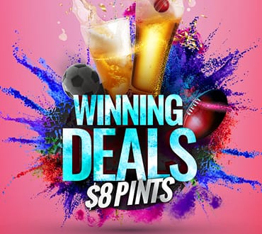 Cheers to $8 Pints - Crown Perth's Value Guarantee
