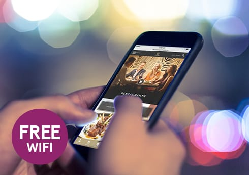 Free Wi-fi at Crown for Crown Rewards Member - Crown Perth