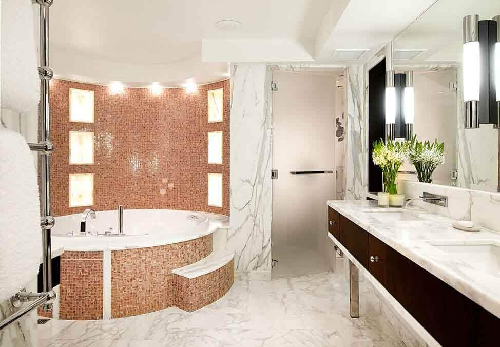 Perth Hotels Metropol InfinitySuite Bathroom