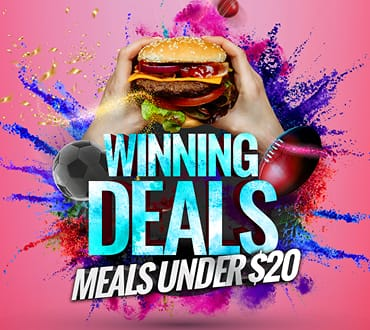 winning deals under 20 value at crown perth sports