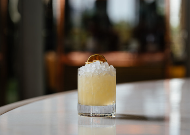 an orange ketle one cocktail