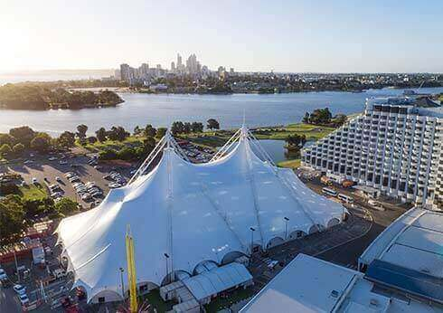 Crown Pyramid - Event and Conference Venues at Crown Perth