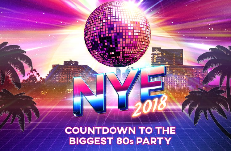 NYE Countdown to 2018 - Crown Perth