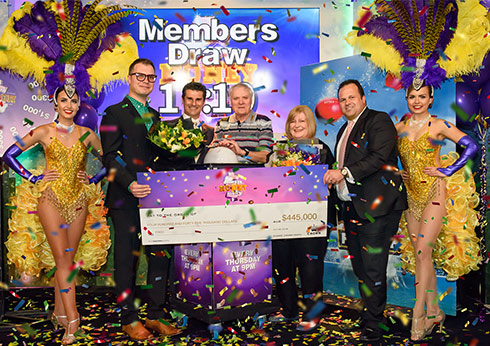 Crown Perth Jackpot Member Money Night