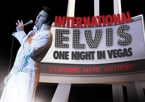 Crown Perth Theatre Elvis one night in Vegas Concert