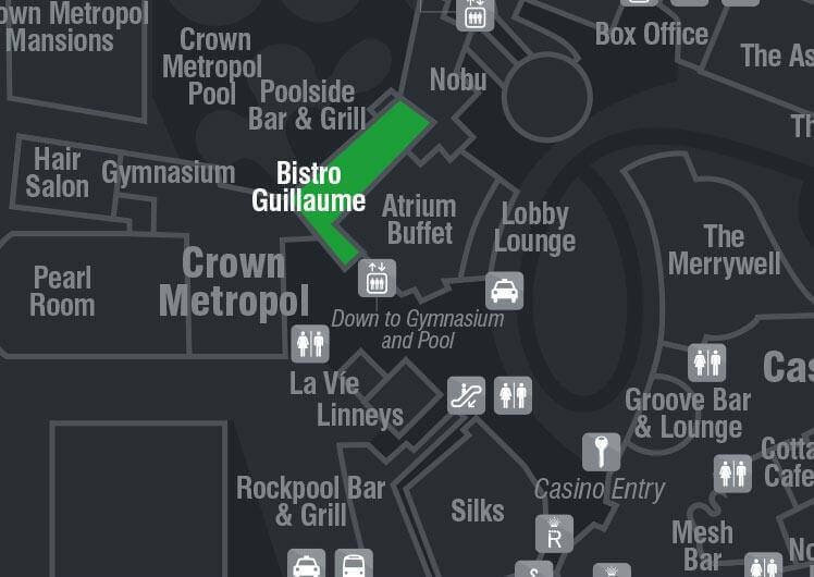 Opening Hours & Map for Bistro Guillaume