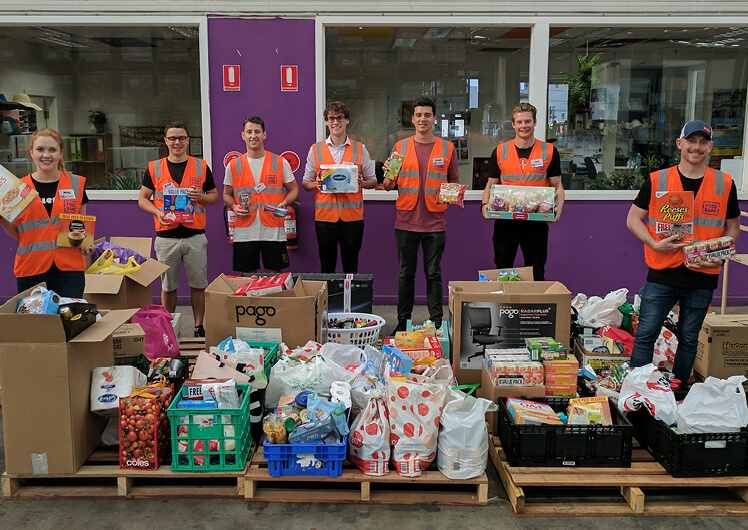 ​Crown Perth donates produce Foodbank WA