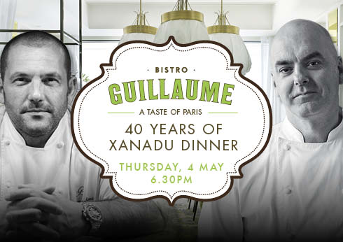 Crown Perth Restaurants Bistro Guillaume Xanadu Wines Dinner