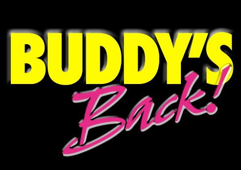 Buddy's Back - Buddy Holly Tribute Show title