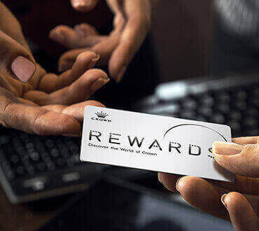 Collecting Your New Card - Terms & Conditions | Crown Rewards Perth