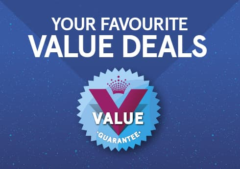 Crown's Value Guarantee