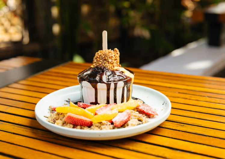 decadent desserts at the merrywell crown perth