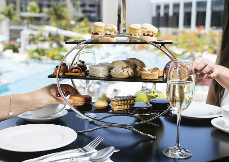 afternoon tea at bistro guillaume crown perth