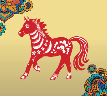 Lunar New Year Zodiacs year of the horse