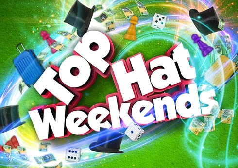 Top hat weekends on Main Gaming Floor at Crown Casino Perth for Monopoly