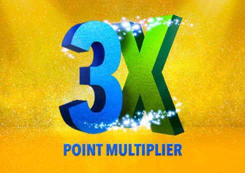 Crown Perth Gaming 3X Multiplier Logo