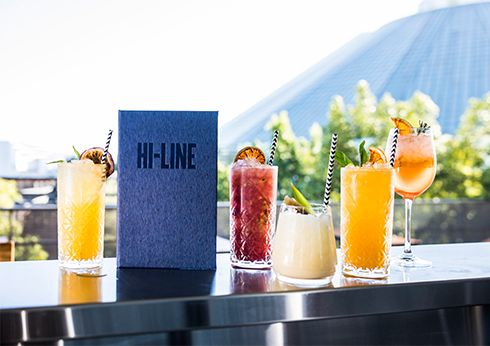Hi-Line Rooftop bar crown perth