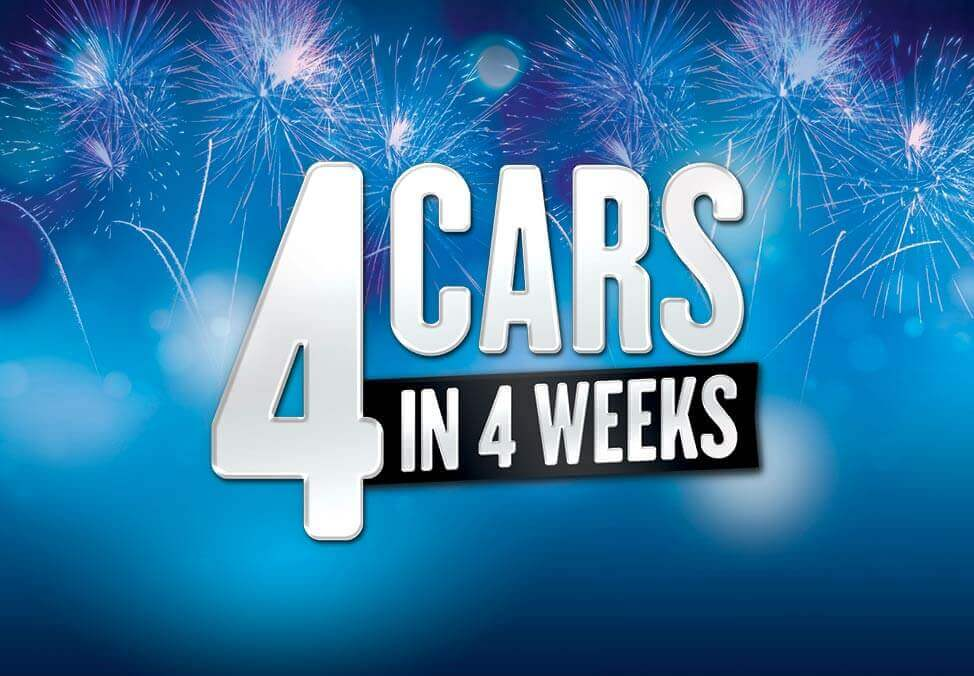 4 Cars in 4 Weeks Winners