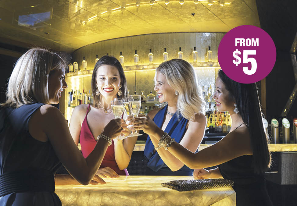 This Month's Drink Specials - Crown Perth Bars