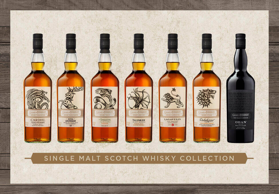Crown Perth Fusion Whisky Sets