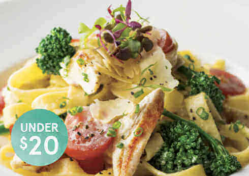 Meals Under $20 - Crown Perth's Value Guarantee