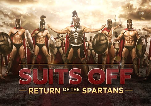 Crown Perth Eve Nightclub Suits Off - Return of The Spartans