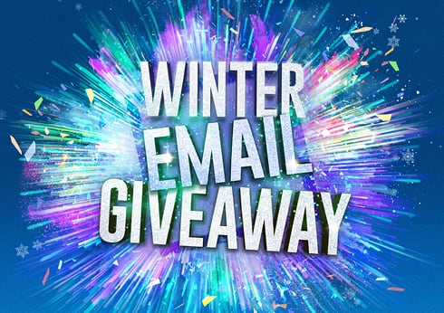 Crown Perth Winter Email Giveaway Rewards