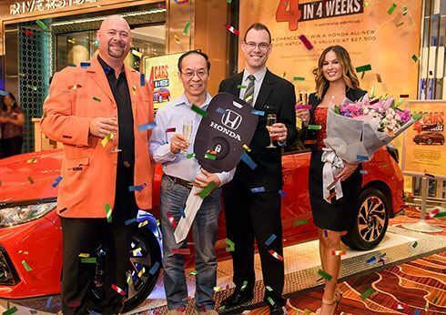 4 Cars in 4 Weeks Winners  - May 2017 at Crown Perth