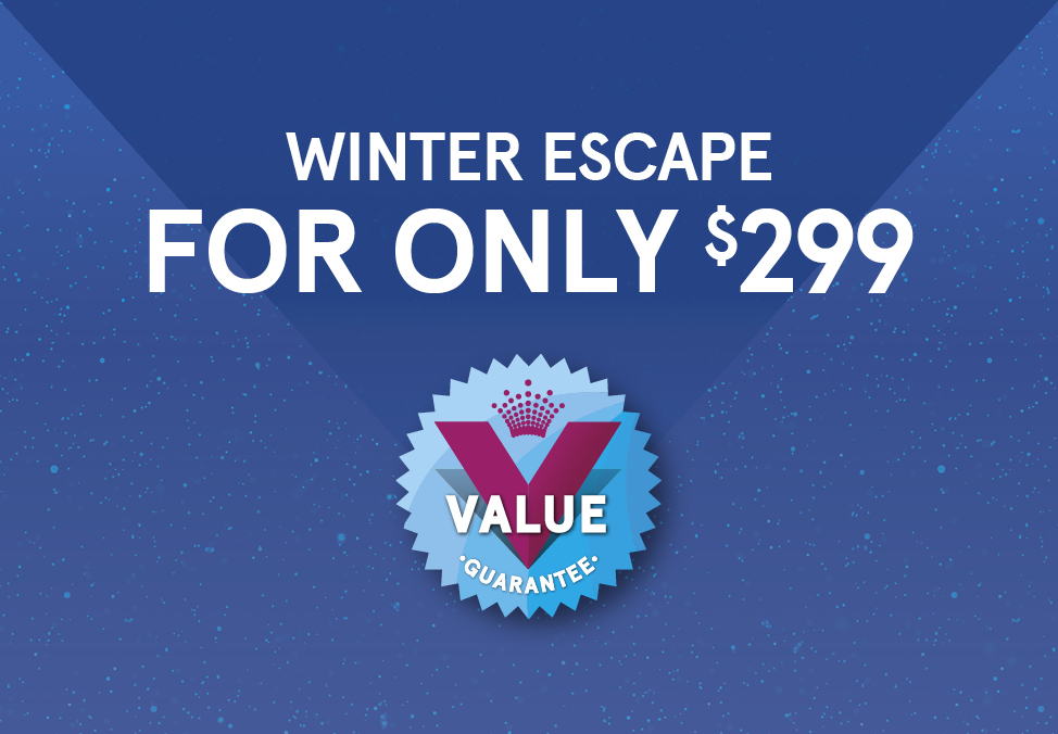 Escape Now for $299 at Crown Metropol - Crown Perth's Value Guarantee 2