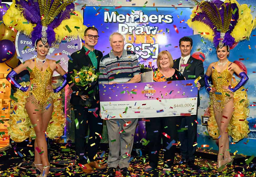 Crown Perth Casino Member Money Night Winner