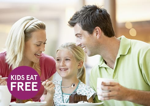 Kids Eat For Free at Atrium Buffet
