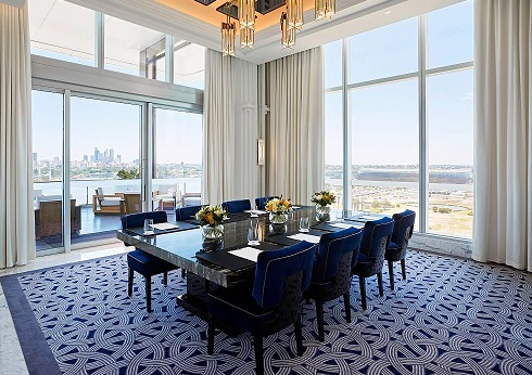 Crystal Club Private Dining Room Crown Perth