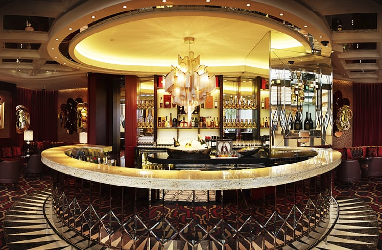 La Vie Champagne Lounge at Crown Perth