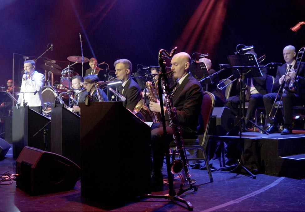 Tom Burlinson & His 20 Piece Orchestra Swingin the Great Standards