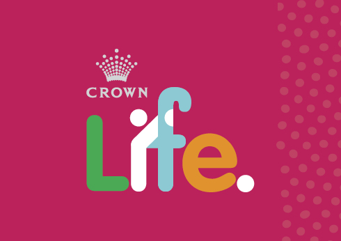 Crown life illustration