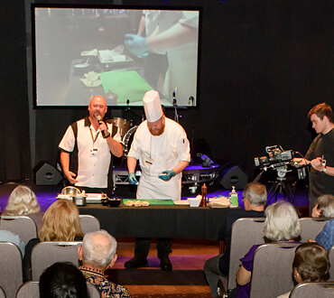 free live cooking demonstration at crown perth life