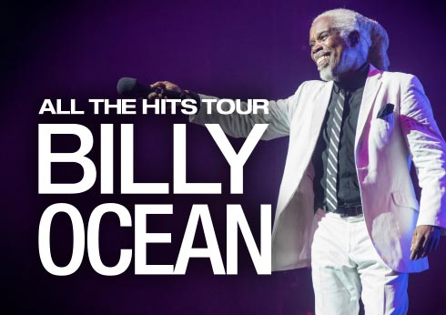 Billy Ocean All The Hits tour at Crown Theatre Perth