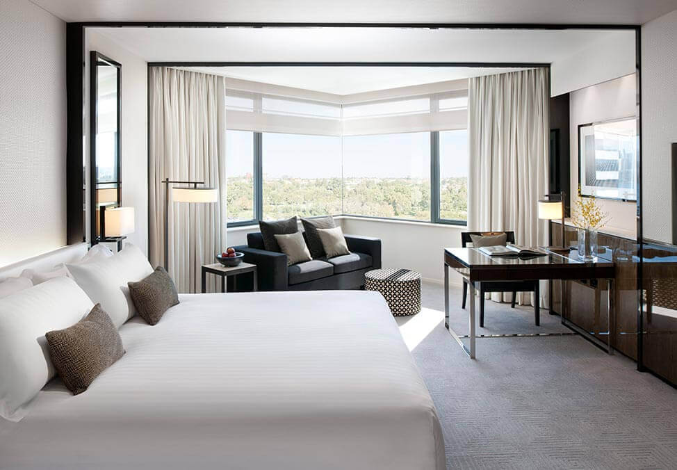 Perth Hotels CrownMetropol LuxeKing Bedroom
