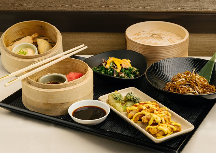 Silks $45 Yum Cha Lunch